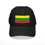 Lithuania Lithuanian Flag Black Cap