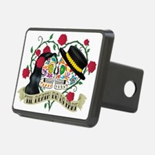 Day Of The Dead Wedding Hitch Cover