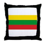 Lithuania Lithuanian Flag Throw Pillow