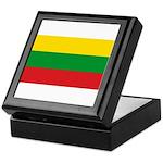 Lithuania Lithuanian Flag Keepsake Box