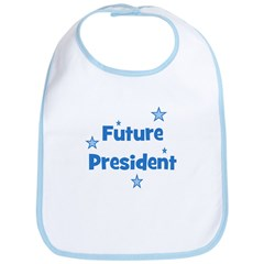 Future President - Blue Bib