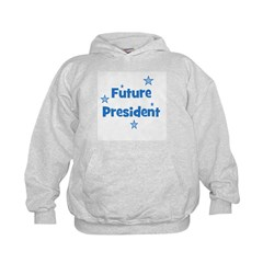 Future President - Blue Hoodie