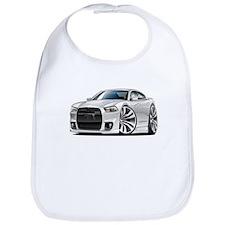 Charger SRT8 White Car Bib