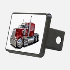 Kenworth W900 Maroon Truck Hitch Cover