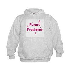 Future President - Pink Hoodie