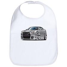 Charger SRT8 Silver Car Bib