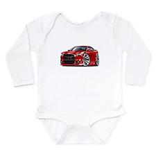 Charger SRT8 Red Car Long Sleeve Infant Bodysuit