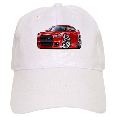 Charger SRT8 Red Car Cap