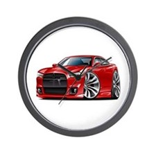Charger SRT8 Red Car Wall Clock
