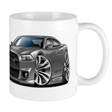 Charger SRT8 Grey Car Mug