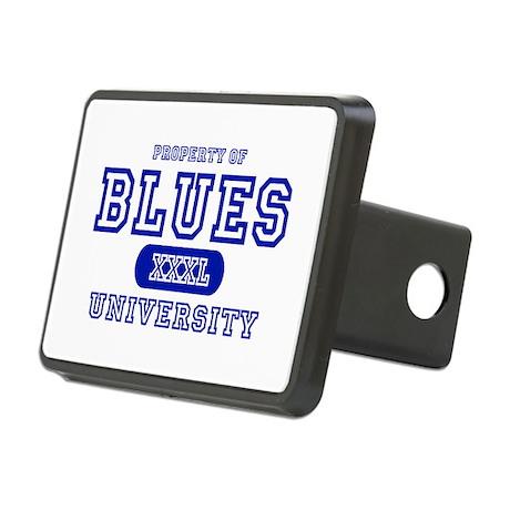 Blues University Rectangular Hitch Cover