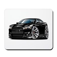Charger SRT8 Black Car Mousepad