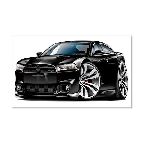 Charger SRT8 Black Car 22x14 Wall Peel