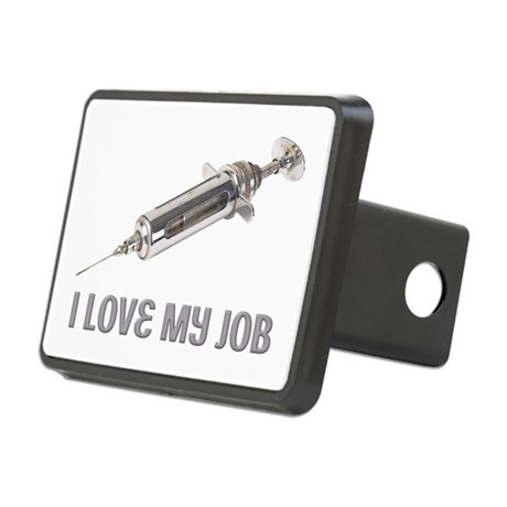 Funny Doctor Rectangular Hitch Cover