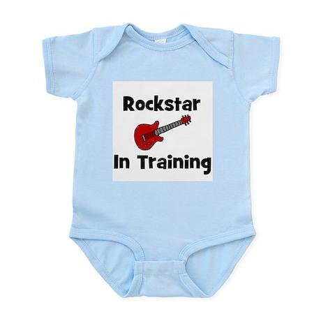 Rockstar In Training Infant Creeper