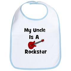My Uncle Is A Rockstar Bib
