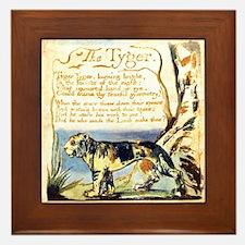 Blake Tyger Framed Tile