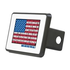Flag Pledge of Allegiance Hitch Cover