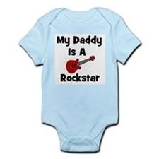 My Daddy Is A Rockstar Infant Creeper