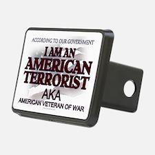 American Terrorist Veteran of Hitch Cover