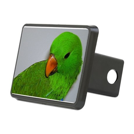 Eclectus parrot Rectangular Hitch Cover