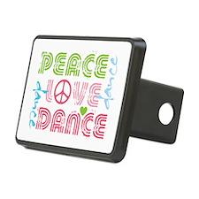 Cute Peace love Hitch Cover