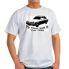Your MOM Ash Grey T-Shirt