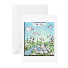 Ewe-topia Greeting Cards (Pk of 10)