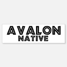 Avalon Native Bumper Bumper Bumper Sticker