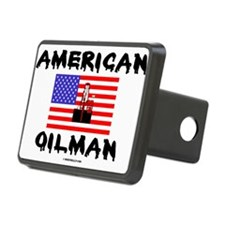 American Oilman Rectangular Hitch Cover