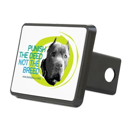 Punish the Deed Rectangular Hitch Cover