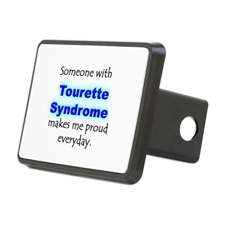 """Tourette Syndrome Pride"" Rectangular Hitch Cover"