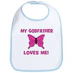 My Godfather Loves Me! - Butt Bib
