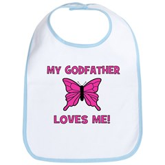 My Godfather Loves Me! - Butt Bib
