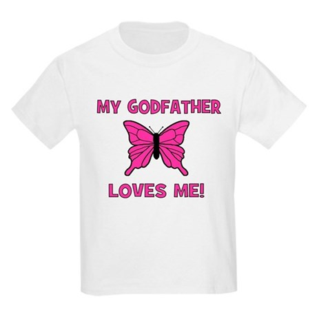 My Godfather Loves Me! - Butt Kids T-Shirt