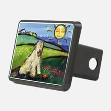 Wheatie smiling sun Hitch Cover