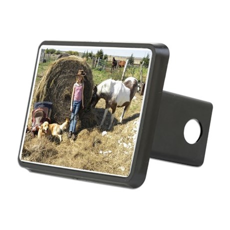 July Rectangular Hitch Cover