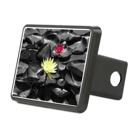 Water Lilies Rectangular Hitch Cover