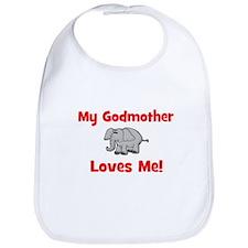My Godmother Loves Me! - Elep Bib