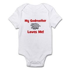 My Godmother Loves Me! - Elep Infant Creeper