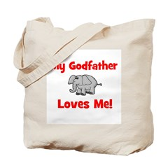 My Godfather Loves Me! - Elep Tote Bag