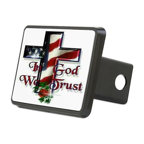 IN GOD WE TRUST Rectangular Hitch Coverle)