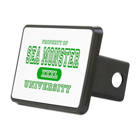 Sea Monster University Rectangular Hitch Cover