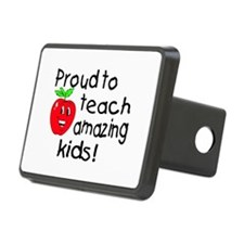Proud To Teach Amazing Kids Hitch Cover