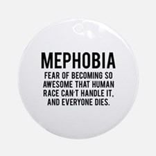 MEPHOBIA Ornament (Round)