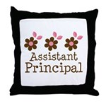 Assistant Principal Appreciation Throw Pillow