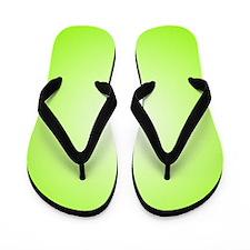L Green Shine (FF) Flip Flops