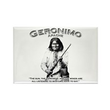 Geronimo 01 Rectangle Magnet