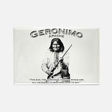 Geronimo 01 Rectangle Magnet