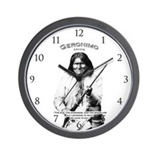 Geronimo 01 Wall Clock